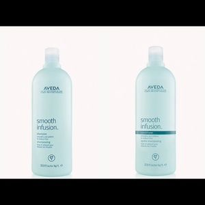 New Aveda Smooth Infusion Shampoo and Conditioner